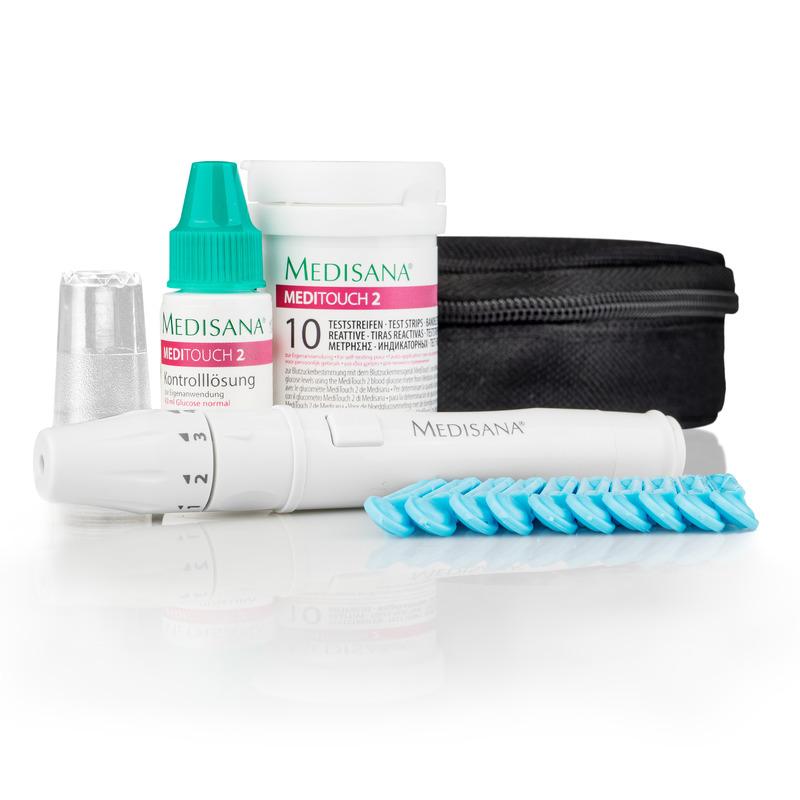 Medisana Glukometr MediTouch 2 Connect (mmol/l) s bluetooth 79046