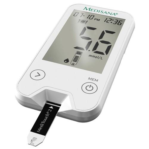 Glukometr s příslušenstvím Medisana Meditouch 2 79034 s USB