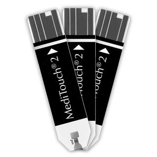 Testovací proužky MediTouch 2 79038 (2 x 25 ks)