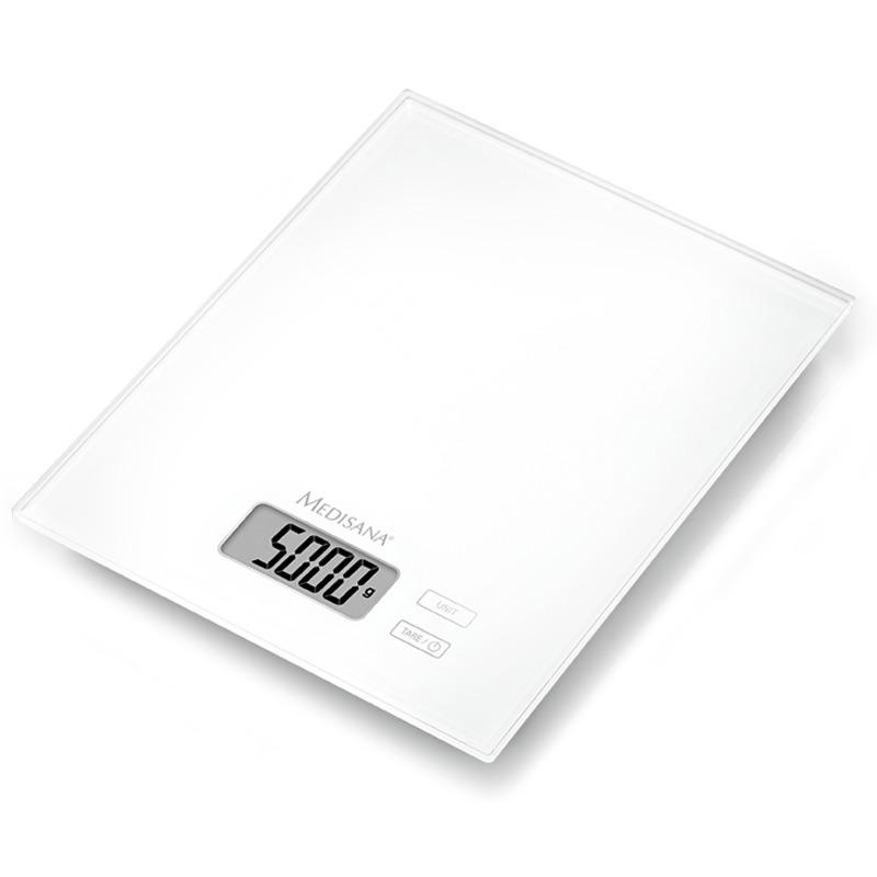Medisana KS 210 bílá digitální kuchyňská váha