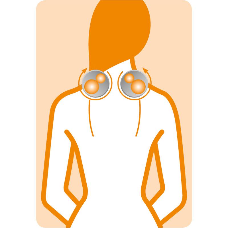 Medisana Shiatsu masážní přístroj NM 880 pro masáž šíje
