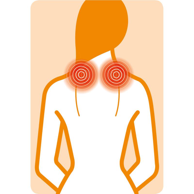 Medisana Shiatsu masážní přístroj NM 890 pro masáž šíje