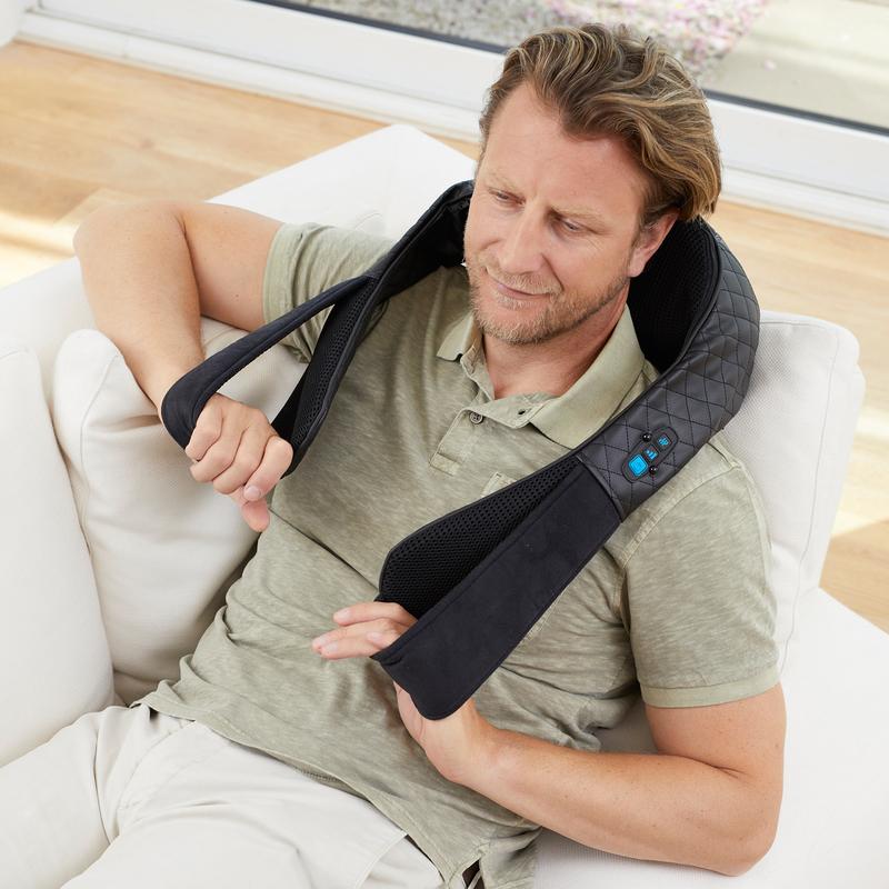 Medisana Shiatsu masážní přístroj NMG 850 pro masáž šíje - černá