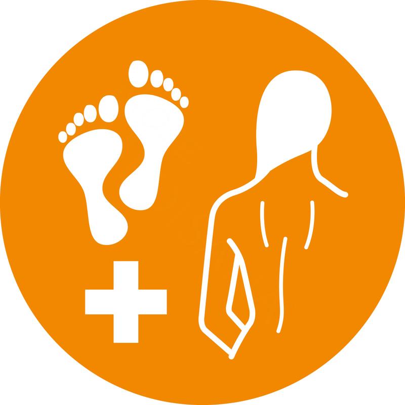 Medisana Shiatsu masážní přístroj na nohy a záda FM 883