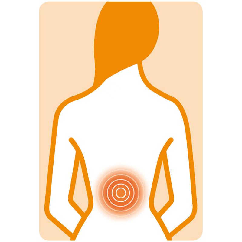 Medisana Shiatsu masážní podložka MC 822 na záda, šíji a stehna