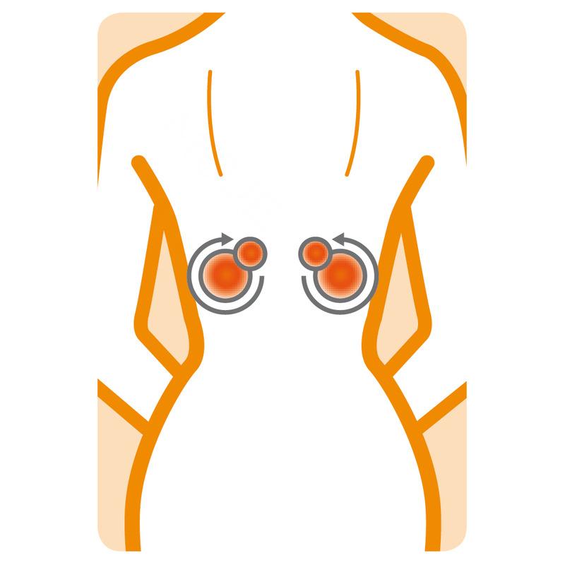 Medisana Shiatsu masážní polštář MC 840