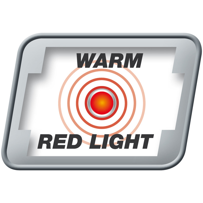 Medisana Intenzivní masážní přístroj s červeným světlem IVM