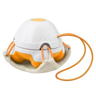 Ruční masážní minipřístroj s žínkou HM 840 oranžový