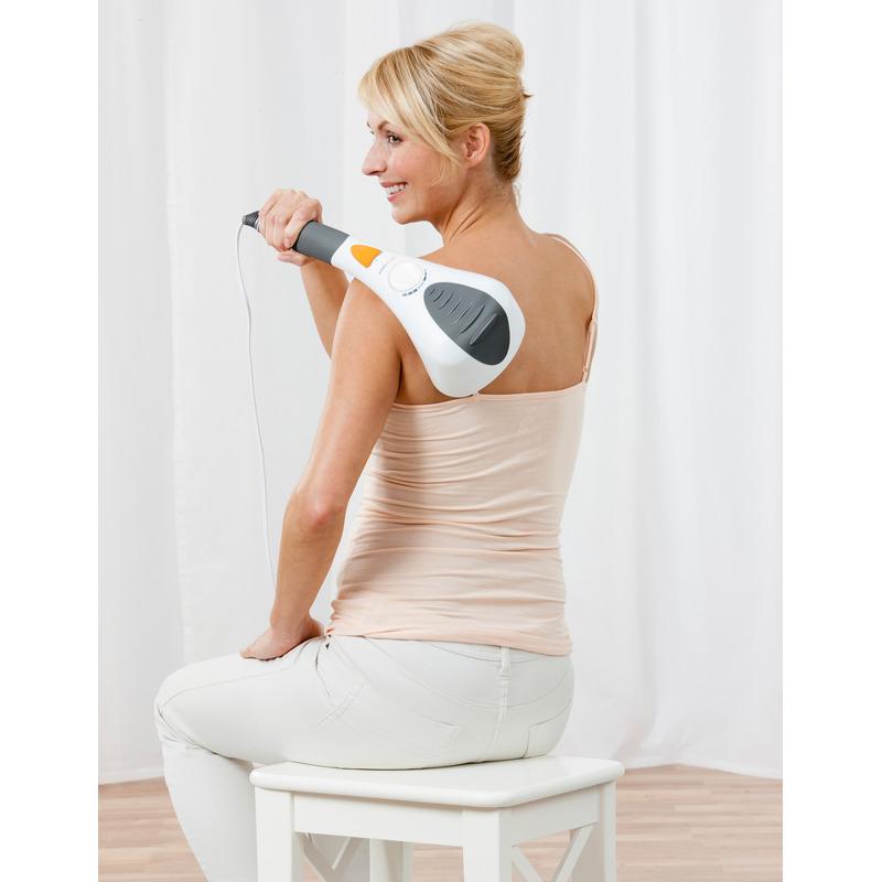 Medisana Ruční masážní přístroj s červeným světlem HM 858