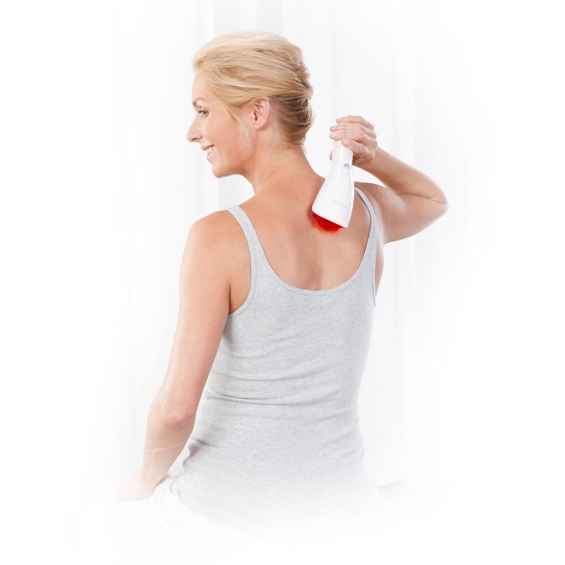 Medisana Ruční masážní přístroj s červeným světlem HM 855