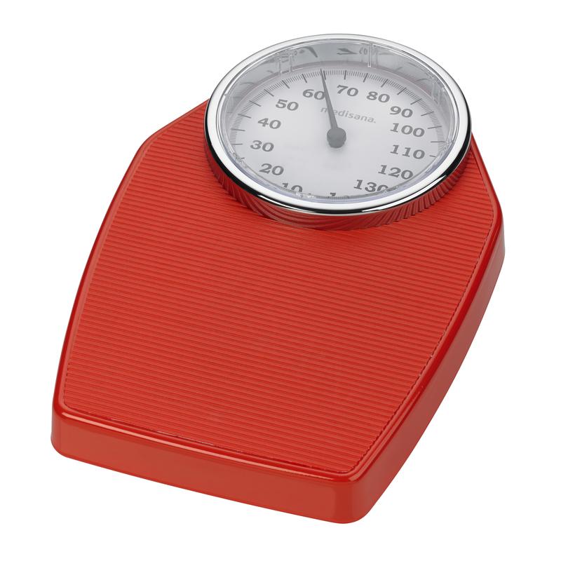 Medisana Analogová osobní váha PS 100 - červená