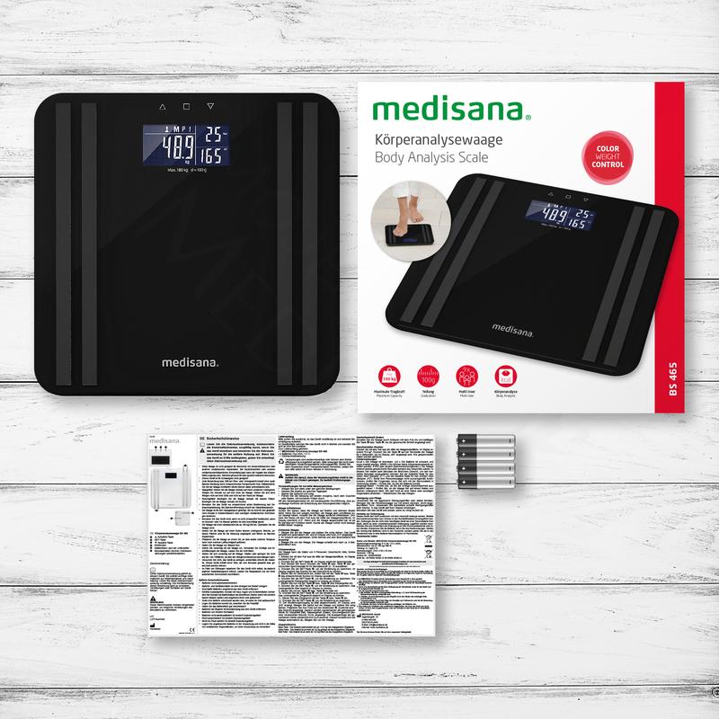 Medisana Digitální váha BS 465 - černá