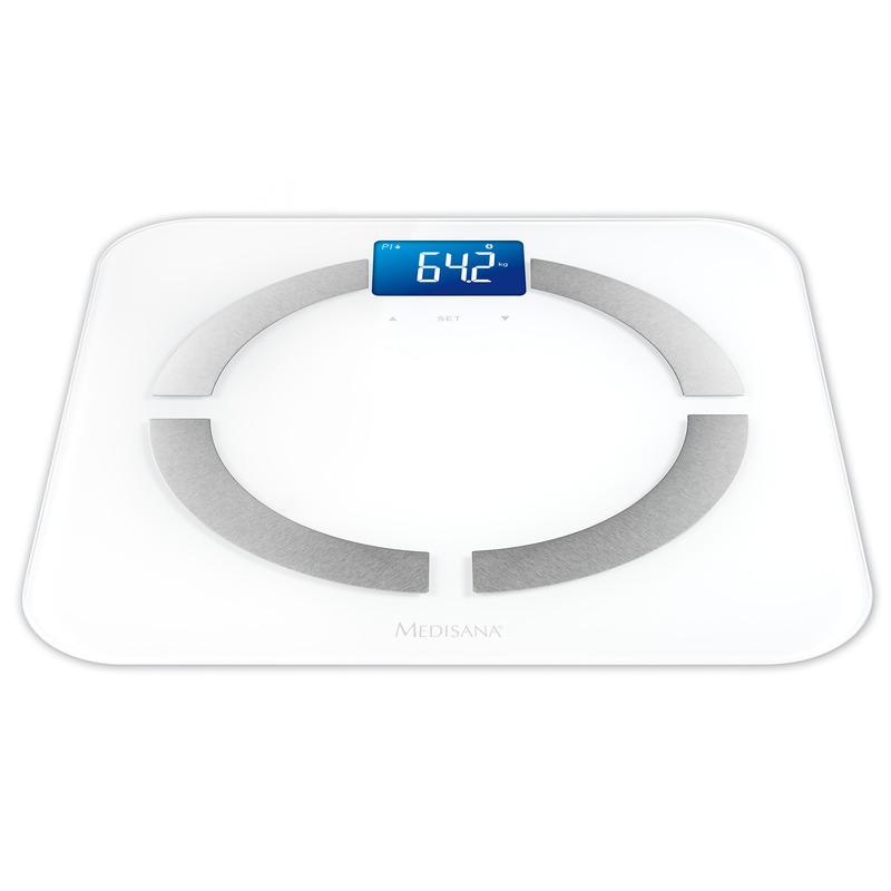 Medisana Digitální váha BS 430 propojitelná se smartphonem bílá