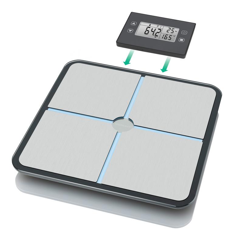 Medisana Digitální váha BS 460 s odnímatelným displejem