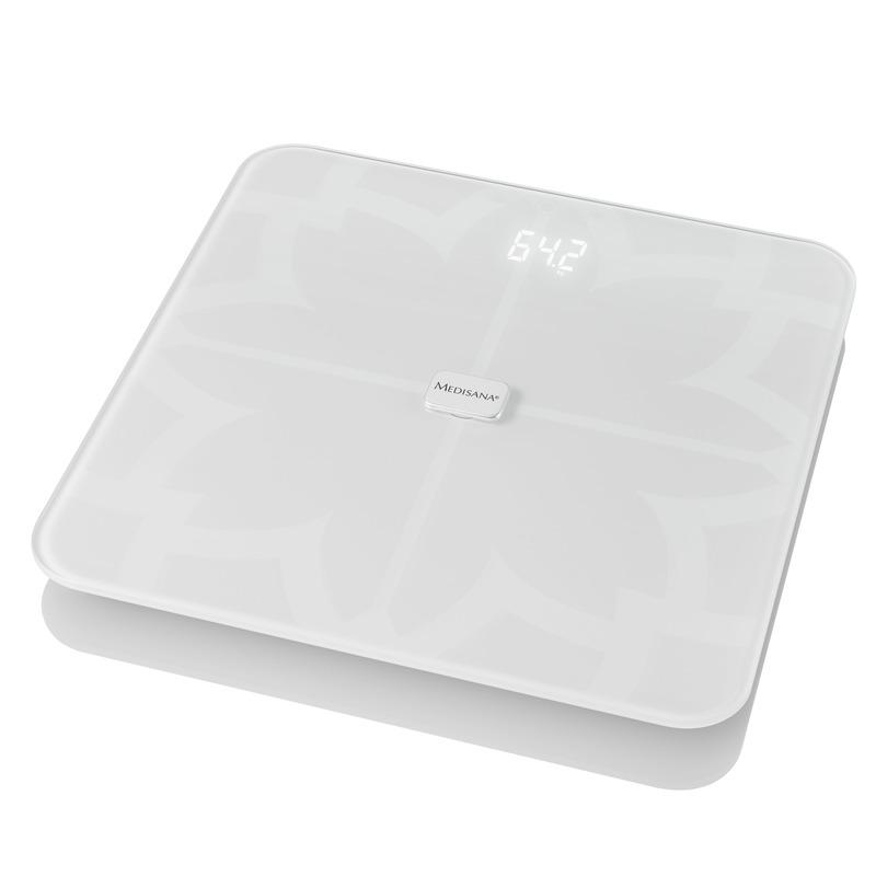 Medisana Digitální váha BS 450 propojitelná se smartphonem bílá