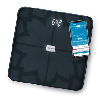 Digitální váha BS 450 propojitelná se smartphonem černá