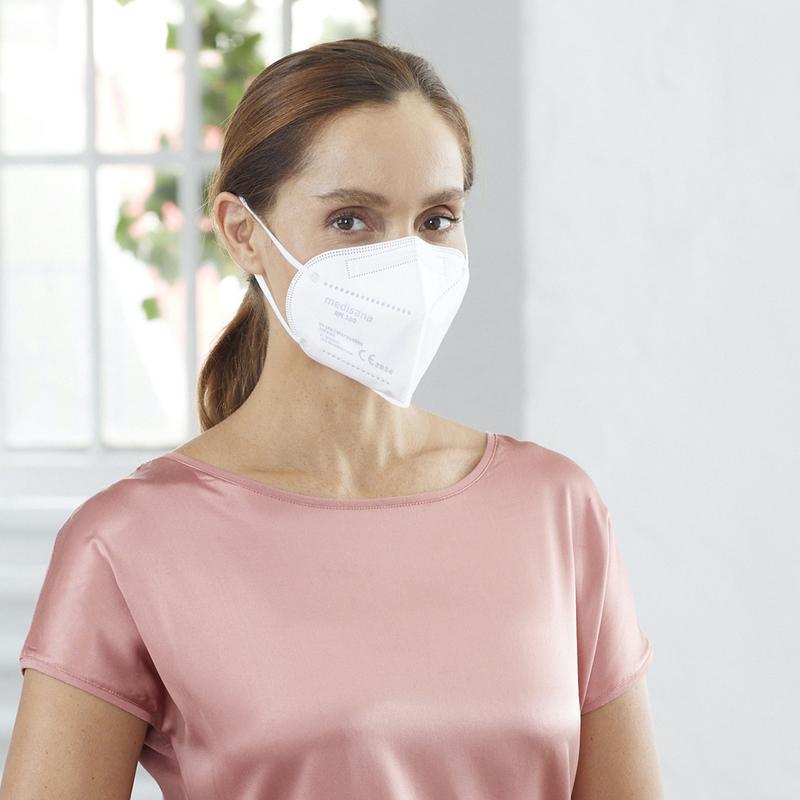 Medisana Sada 10 ks respirátorů FFP2 RM 100