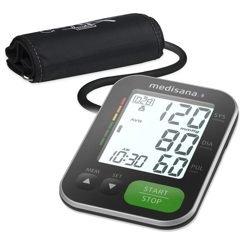 Medisana Tlakoměr na paži BU 570 s Bluetooth - černý